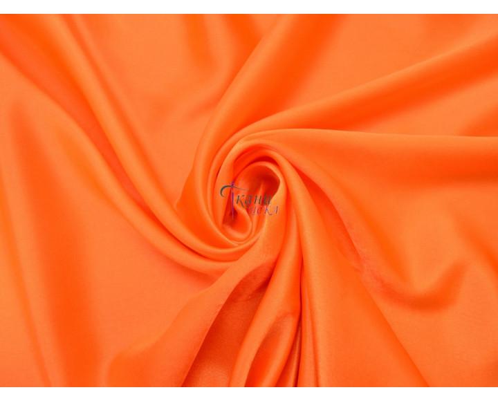 Креп-сатин оранжевый 0009