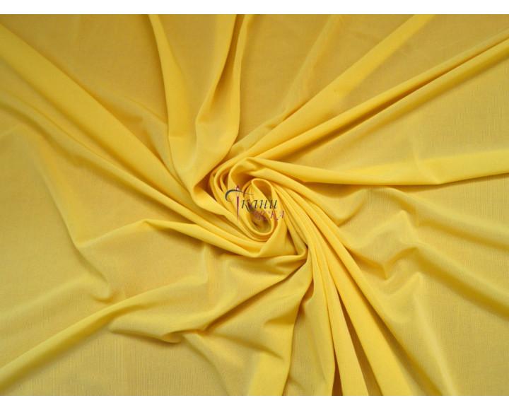 Трикотаж масло желтый