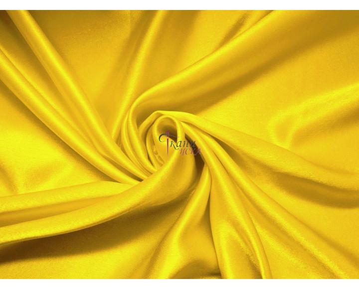Креп-сатин желтый 0001