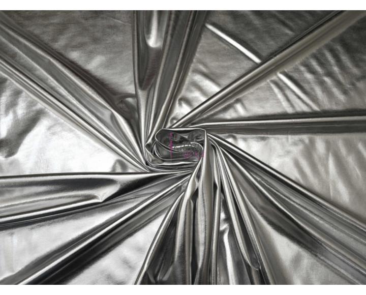 Трикотаж диско серебряный 0061