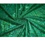Трикотаж диско зеленый 0028