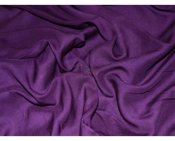 Штапель фиолетовый 0033