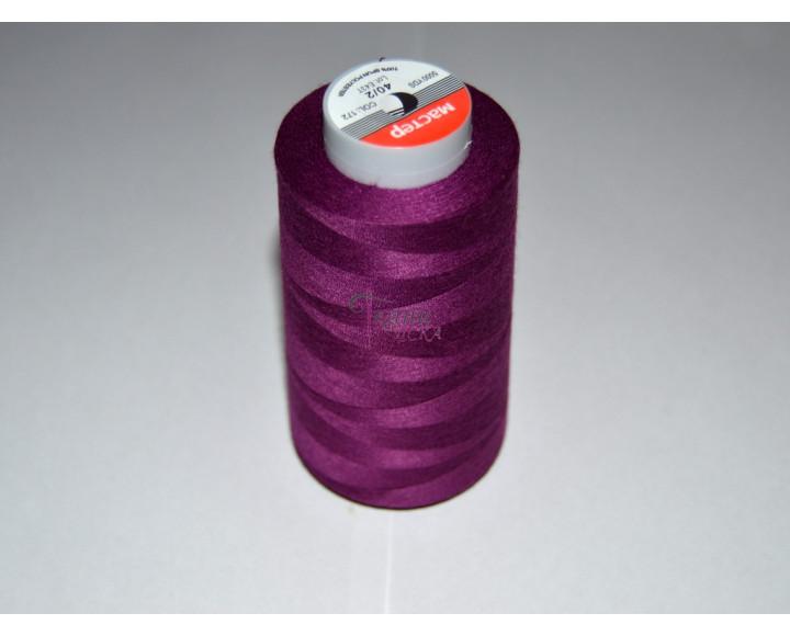 Нитки пурпурные 0008