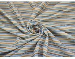 Хлопок разноцветные полосы 0043