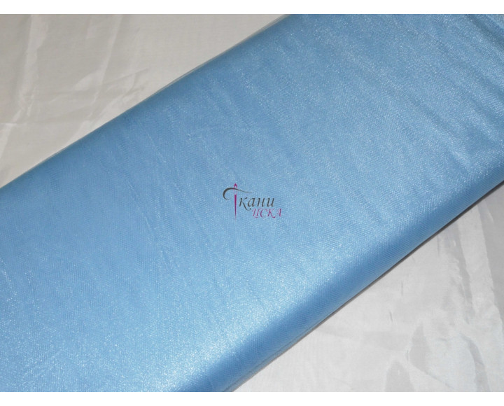 Сетка средняя голубая 0011