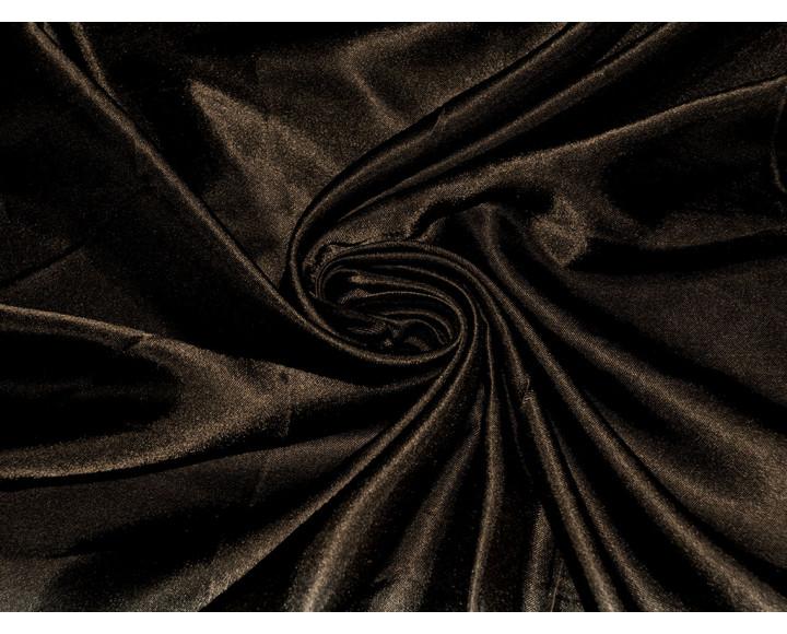 "Атлас однотонный ""Тёмный шоколад"" 0045"