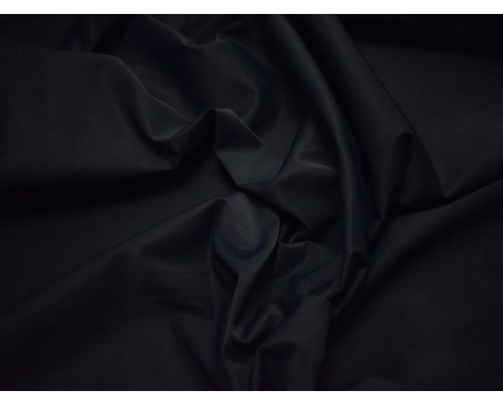 Плащевка темно-синяя хлопок полиэстер