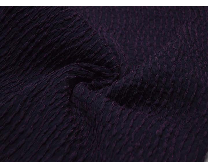 Плательная Набивная Фиолетовая 00034