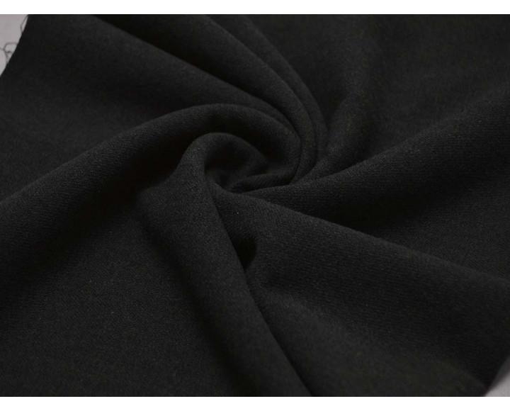 Костюмная темно-серая полиэстер 00030