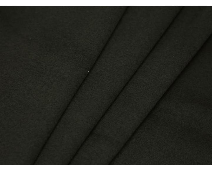 Пальтовая ткань темно-зеленая