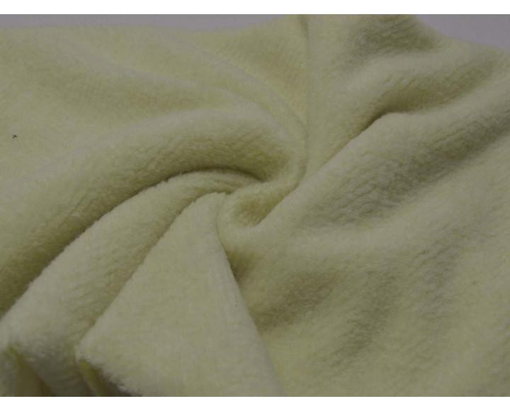 Ткань Костюмная Молочная 95% полиэстер 5% эластан 00018
