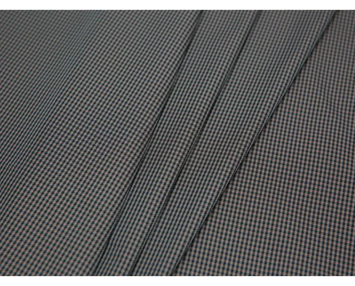 Курточная ткань с пропиткой принт гусиная лапка