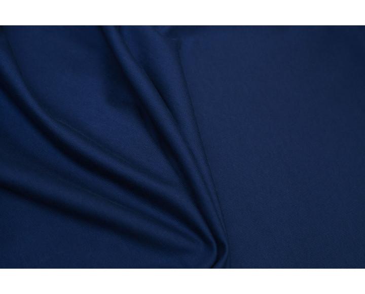 """Трикотаж однотонный """"Темно-синий"""" Г5в-00005"""