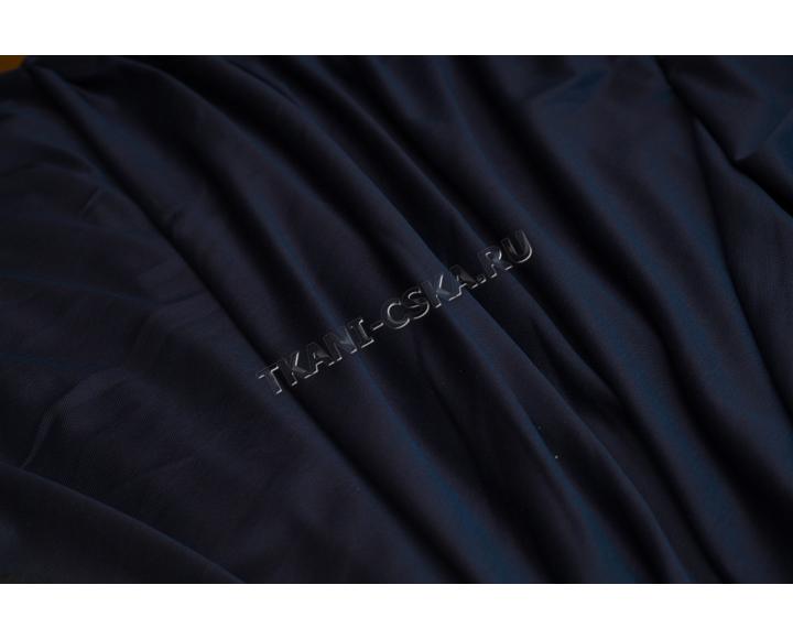 "Трикотаж однотонный ""Тёмно-синий хлопок""   Д5б-00050"