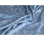 """Трикотаж набивной """"Голубая клетка""""   Г6г-00031"""