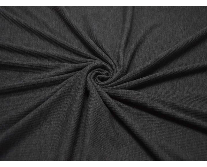 Трикотаж однотонный Серый 00018