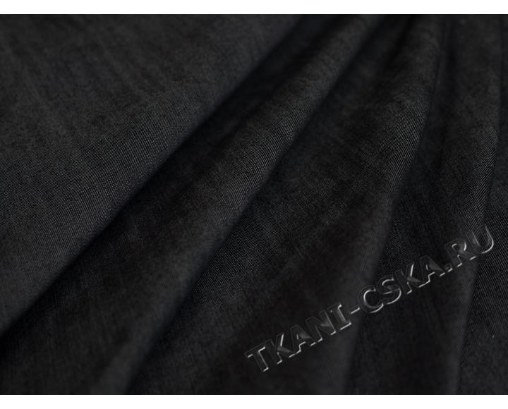 Джинс  синевато-черный
