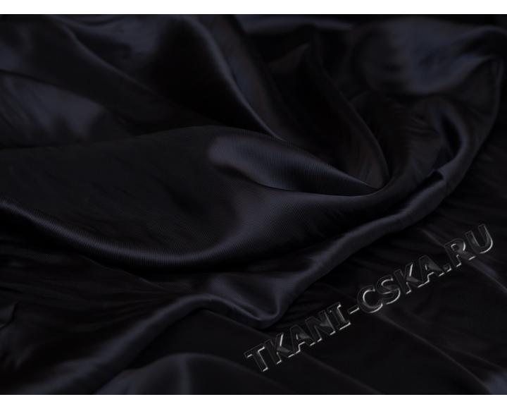 Подкладка Тёмно-синяя вискоза