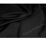 Подкладка Чёрная вискоза зигзаг