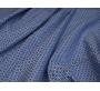 Костюмная набивная Синяя