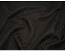 Жаккард шоколадно-коричневого цвета