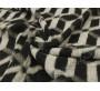 Пальтовая набивная черно-серая