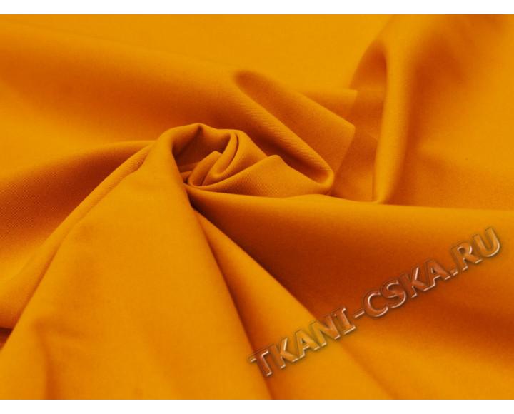 Курточная однотонная Оранжево-серая