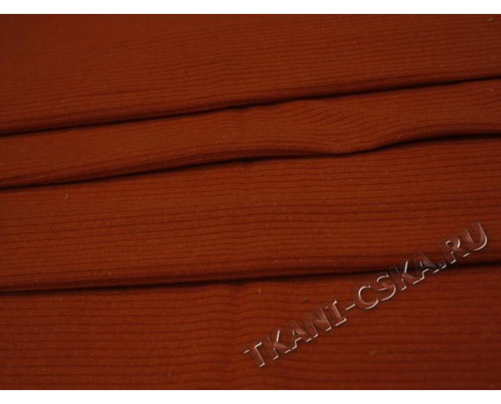 Трикотаж однотонный Оранжевый