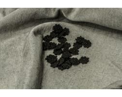 Цветок черный декоративный