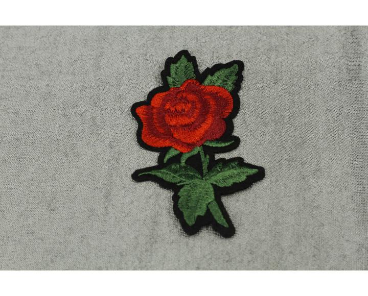 Нашивка Красная роза