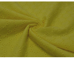 Шитьё жёлтого цвета круги