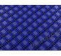 Китайский шелк синий в клетку