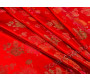 Китайский шелк  красный  Альберто