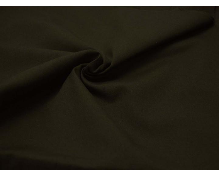 Ткань Костюмная Темно-зеленая Хлопок 100% 00032