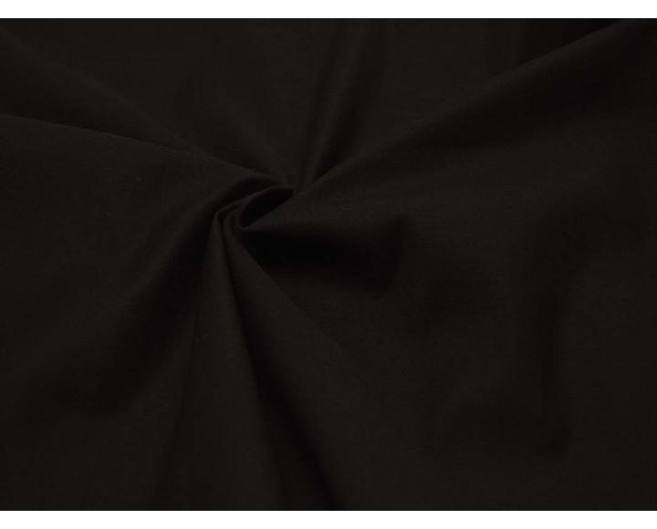 Ткань Костюмная Темно-коричневая Хлопок 97% Эластан 3% 00043