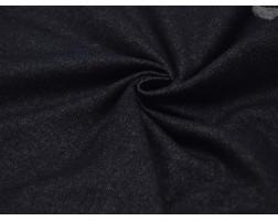 Костюмная ткань Темно-синяя 00005