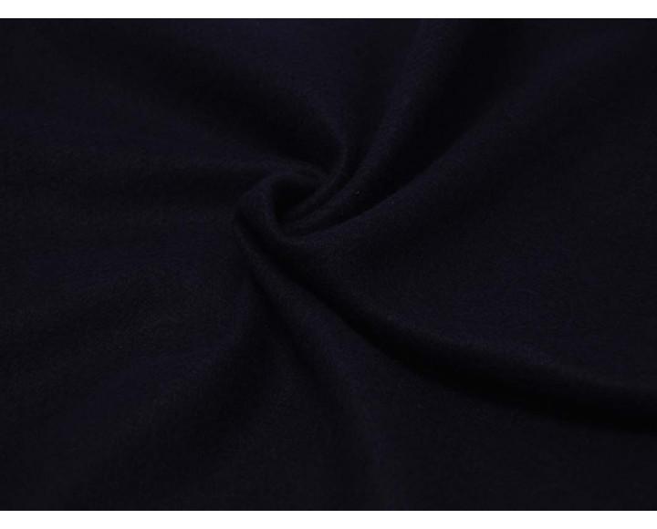 Ткань Пальтовая Темно-синяя Полиэстер 100% 00058