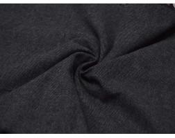Костюмная ткань Черная В Белую Крапинку 00044