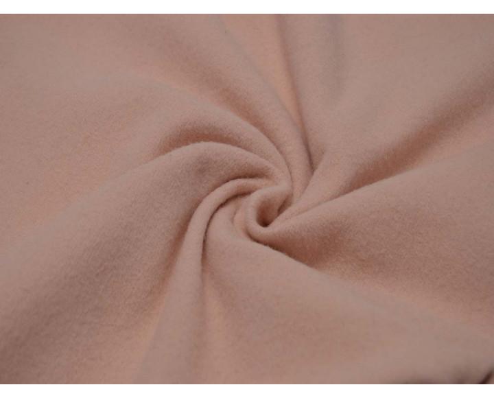 Пальтовая ткань персиковая 00050