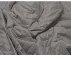 Ткань Курточная Стеганая Белая 00021