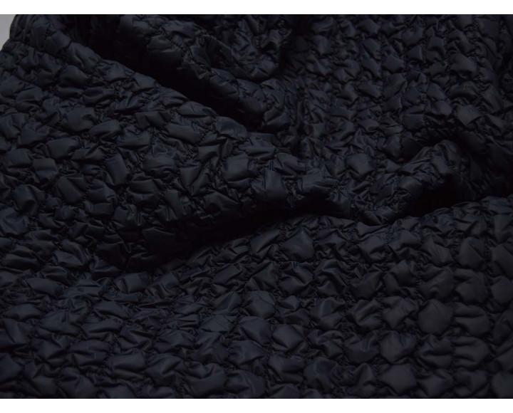 Курточная стеганая темно-синяя 00015