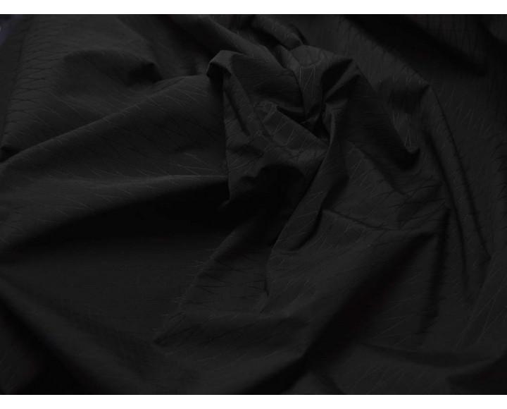 Ткань Плащевая Черные Ромбики 00070