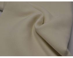 Костюмная ткань Молочная Шерстяная 00057