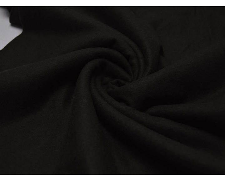 Костюмная Темно-коричневая Шерсть С Полиэстром 00032
