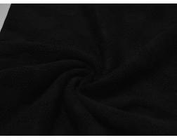 Трикотаж Ажур Черный 00029