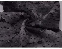 Гипюр Темные Цветы 00042