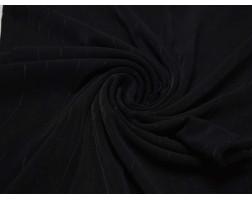 Трикотаж  Черный С Узором 00122