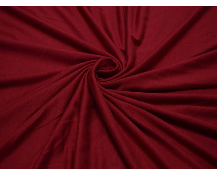 Трикотаж однотонный Красно-винный 00031