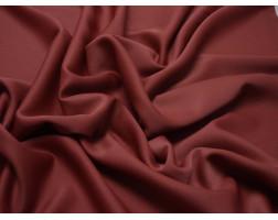 Плательная однотонная Красно-бордовая 00033