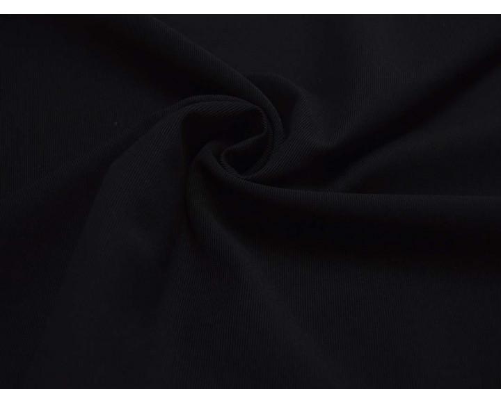 Трикотаж однотонный Черный 00029